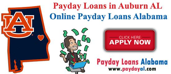 Payday Loans in Auburn AL - Online Payday Loans Alabama