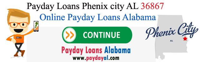 Payday Loans Phenix city AL 36867
