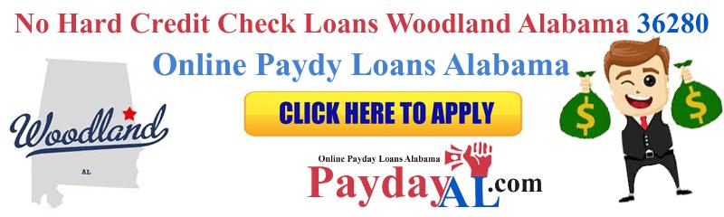 No Hard Credit Check Loans Woodland Alabama 36280