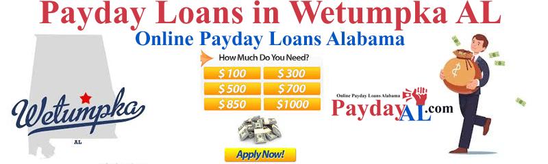 Payday Loans Wetumpka Alabama