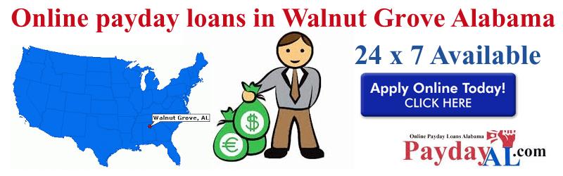 online payday loans in Walnut Grove Alabama