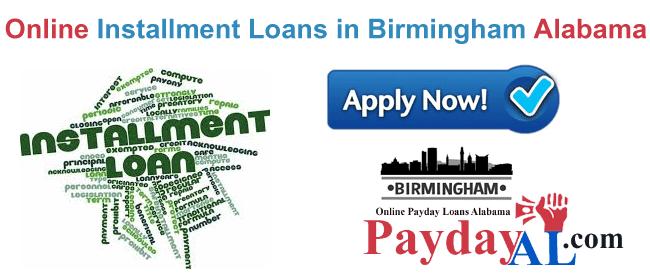 Installment loans Birmingham AL